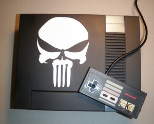 Kevin with a beard shows us this awesome custom NES!